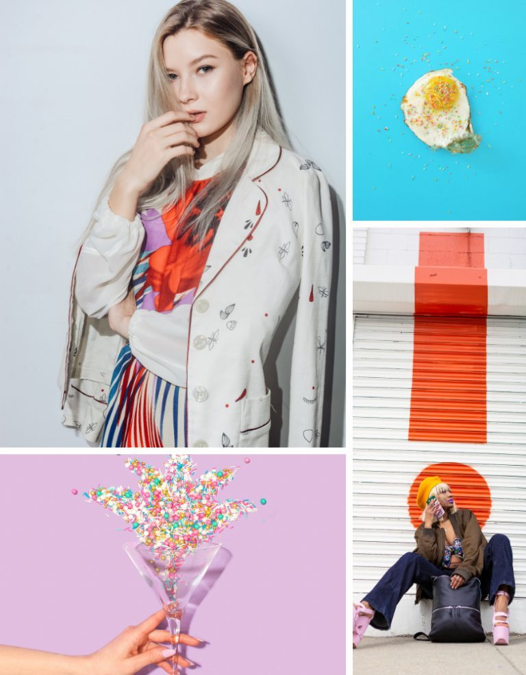 How do you mix prints and patterns in clothing