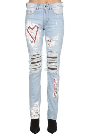 MJB - MARC JACQUES BURTON Crixus Iii Destroyed Denim Jeans
