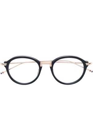 Thom Browne & Shiny 18K Gold Optical Glasses