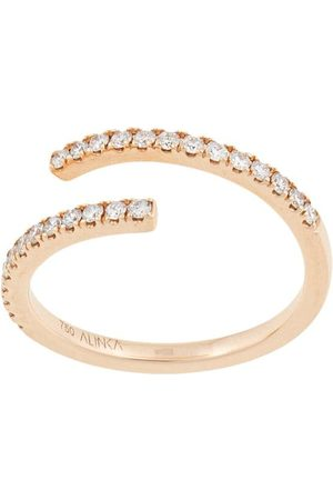 ALINKA 18kt yellow ECLIPSE diamond ring