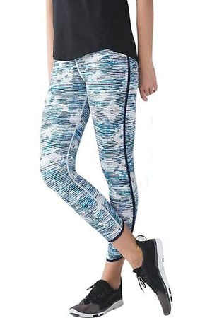 Newchic Women Pants - Women Mid Calf Floral Printed Visibility Yoga Gym Pants