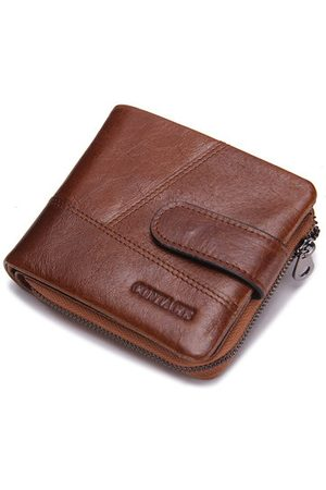 Newchic Men Bags - Genuine Leather Vintage Casual Coin Bag Wallet