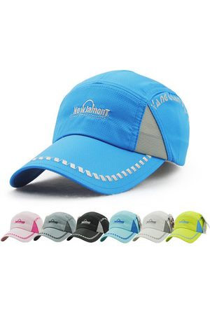 Newchic Men Summer Ultra-Thin Quick-Drying Baseball Cap Outdoor Casual Breathable Hat