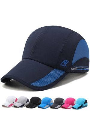 Newchic Mens Women Outdoor Sports Waterproof Quick-dry Hat Casual Visors Breathable Baseball Caps