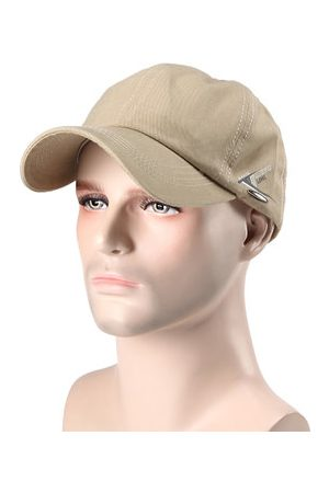 Newchic Mens Women Simple Solid Curved Baseball Hat Outdoor Sport Breathable Snapback Sunshade Hat Gorras