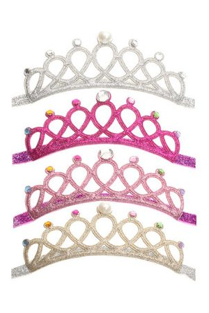 Newchic Girls Kids Children Baby Elastic Princess Hairband Party Crown Tiara Hair Head Band