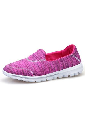 Newchic Colourful Mesh Slip On Casual Walking Shoes For Women