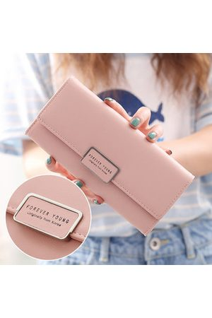 Newchic Women Wallets - Elegant Character Wallet For Women PU Leather Square Wallet Purse Clutches Bag