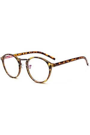 58ae55f550 Newchic Fashion Retro Mens Women Circular Flat Glasses PC Frame Clear Lens  Eyeglasses