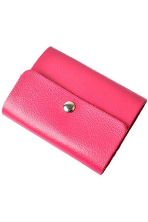 Newchic Portable Genuine Leather Card Holder 26 Card Slots Wallet For Women Men Unisex