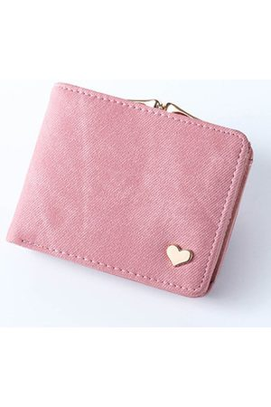 Newchic Women Short Candy Color Wallet Card Holder Purse