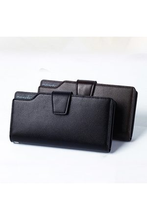 Newchic Men Laptop Bags - Pu Leather Casual Clutch Bag Business 11 Card Slots Wallet Phone Bag For Men
