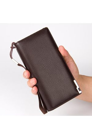 Newchic 11 Card Slots Clutch Bag Pu Leather Business Wallet