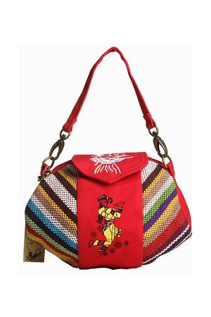 Newchic Women National Style Canvas Casual Handbags