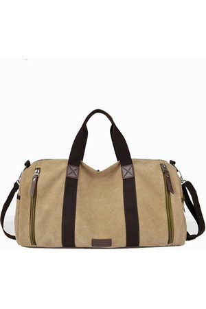 Newchic Canvas Large Capacity Casual Travel Bag Luggage Bag Handbag Shoulder Bag