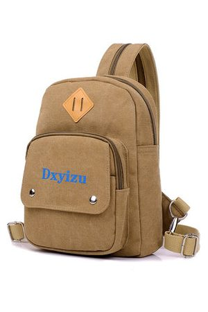 Newchic Canvas Casual Chest Bag Backpack Durable Shoulder Bags For Women