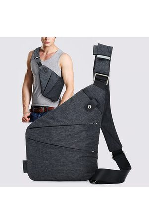 Newchic Burglarproof Oxter Outdoor Sport Chest Bag Dacron Digital Storage Bag For Men