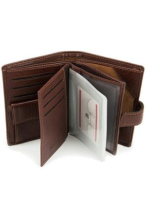 Newchic PU Leather Wallet Business Card Pack Coin Bag For Men