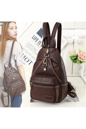 Newchic Women Vintage Daily Outdoor Portable Chest Bag