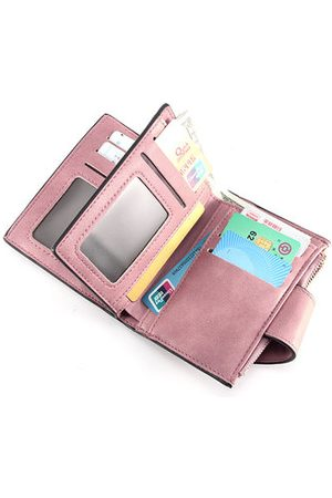 Newchic Women PU Leather Multi-Card Slots Short Wallet Cash Coin Bag Purse Wallet