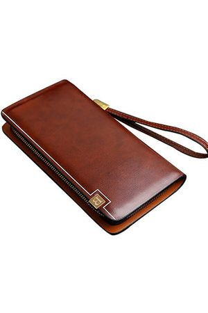 Newchic Pu Leather Clutch Bag Business 8 Card Slots Wallet Phone Bag For Men