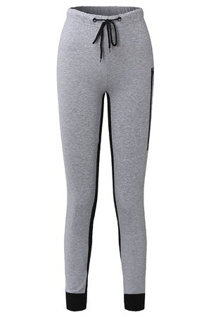 Newchic Patchwork Cotton Sport Pants for Women