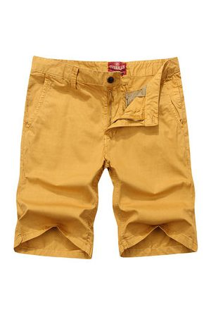 Newchic Mens Spring Summer Brief Style Multicolor Casual Cotton Cargo Shorts