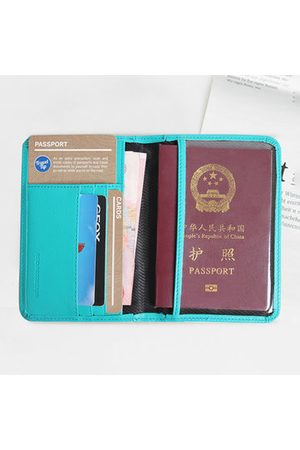 Newchic RFID Casual Passport Storage Bag Travel Bag Multi-slots Cosmetic Bag