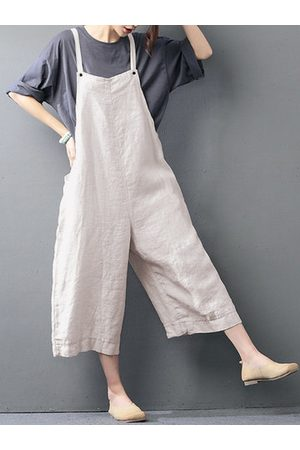 Newchic Strap Pocket Baggy Jumpsuits