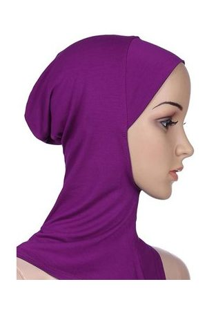 Newchic Women Modal Cotton Solid Breathable Muslim Hijab Islamic Scarf Muslim Headscarf