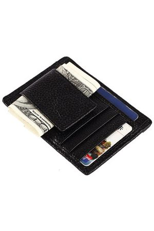 Newchic Genuine Leather 5 Card Slots Wallet Portable Mini Coin Bag Card Holder For Men