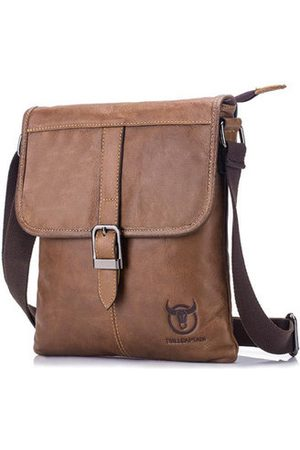 Newchic Genuine Leather Soft Face Business Crossbody Bag For Men