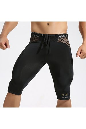 Newchic Mens Sexy Breathable Quick-drying Bodybuliding Skinny Legging Basketball Jogging Sport Shorts