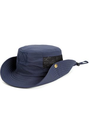 Newchic Mens Mesh Breathable Sunscreen Wide Brim Fisherman Caps Outdoor Sport Climbing Visor Bucket Hat