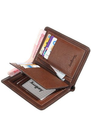 Newchic Men Wallets - Vintage Business Wallet 15 Card Slots Coin Bag Pu Card Holder Purse For Men