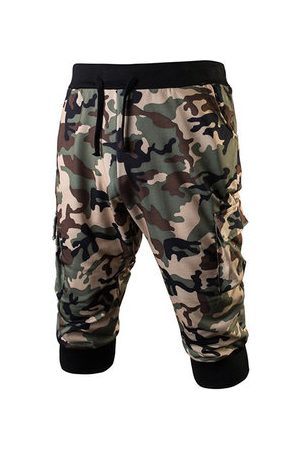 Newchic Camo Printing Casual Sport Shorts