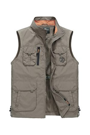 Newchic Plus Size Outdoor Fishing Vest
