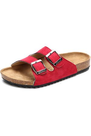 Newchic Unisex Kids Casual Comfy Beach Softwood Slippers