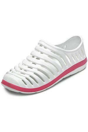 Newchic Women Casual Shoes - Large Size Hollow Out Breathable Beach Casual Shoes