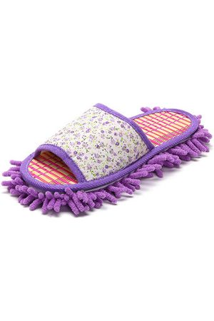 Newchic Women Flats - Mopping Cleaning Peep Toe Flat Home Housework Slippers