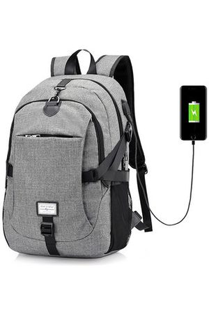 Newchic 17 Inch Laptop Bag USB Charger Business Backpack