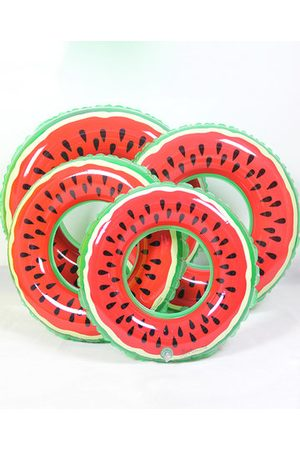 Newchic Pool Float Watermelon Swimming Ring Adult Child Thicken Inflatable Toy Life Buoy