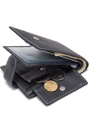 Newchic Genuine Leather Multi-card Slot Wallet Business Casual Coin Bag For Men