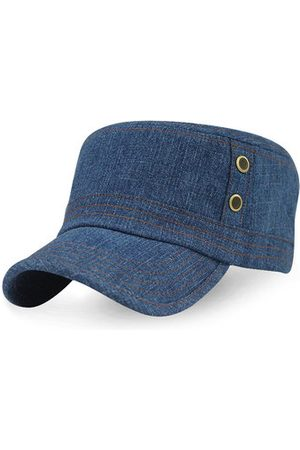 Newchic Mens Women Summer Breathable Cowboy Baseball Caps Outdoor Sunscreen Visor Flat Top Hat