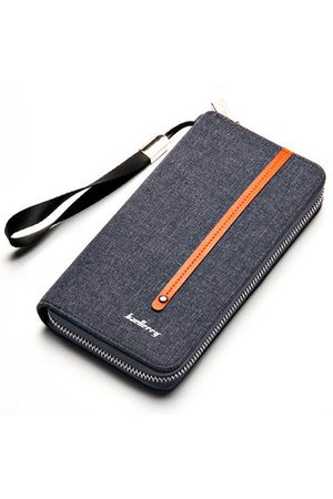 Newchic Canvas Zipper Clutch Bag Retro Multi-card Holder Wallet For Men