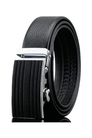 Newchic 125-130CM Business Genuine Leather Belt First Layer Leather Automatic Belt For Men