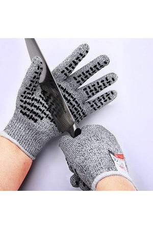 Newchic Mens Breathable Anti-cutting Gloves Proof Protect HHPE Safety Mesh Butcher Cut Resistant Work Gloves