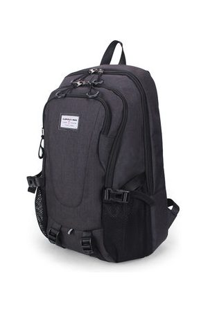 Newchic 17 Inch Canvas Multi-functional Laptop Bag Travel Business Student Bag Backpack For Men