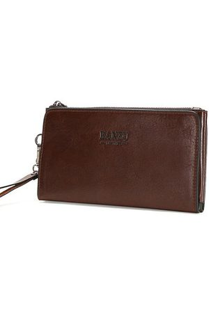 Newchic PU Leather Clutch Bag Casual Retro Multi-card Holder Wallet For Men