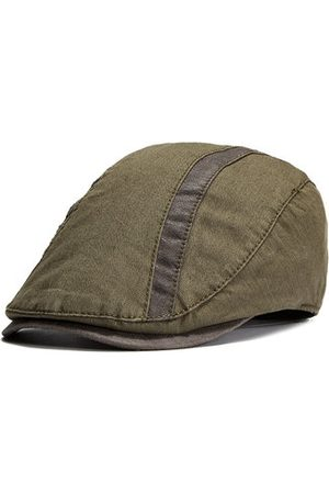 Newchic Men Hats - Men Classic Summer Cotton Berets Caps Autumn Casual Sport Soft Comfortable Flat Hats Adjustable
